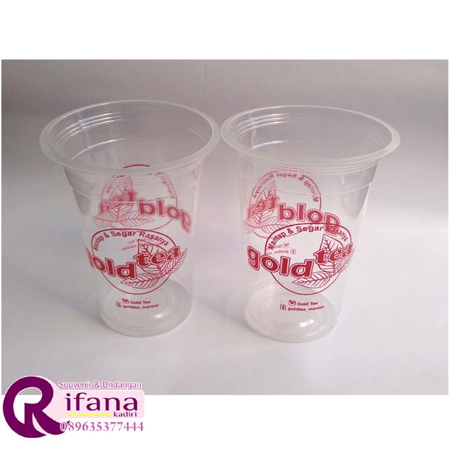 cup gelas sablon
